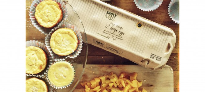 Mini ricotta cheesecakes / Мини чизкейки с сыром рикотта
