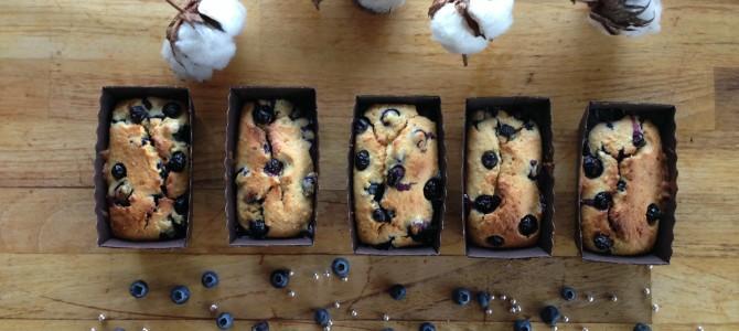 Mini Blueberry Coconut cakes / Чернично-кокосовые кексы