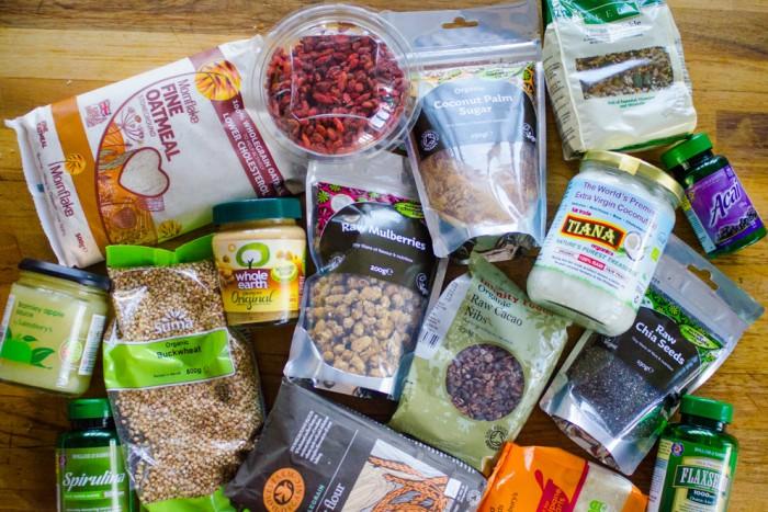 Whole foods shopping / Шоппинг полезных продуктов и добавок.