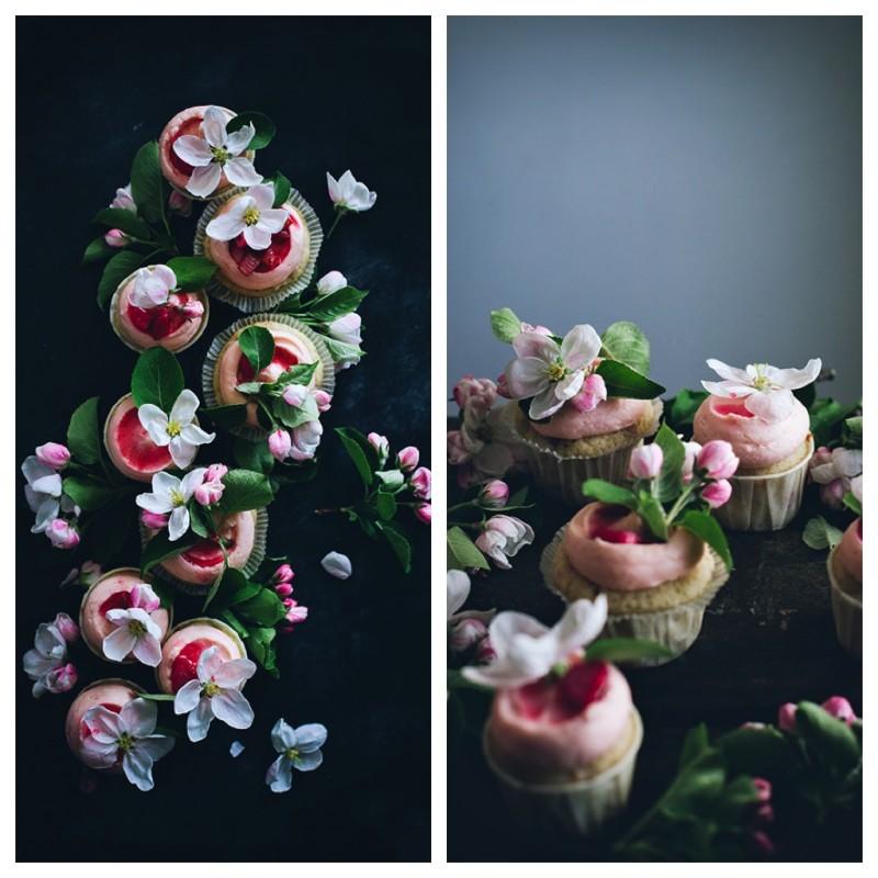 Rhubard Cupcakes