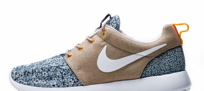 Summer kicks. Nike and Liberty collaboration. / Новая обувка : совместный проект Nike и Liberty.