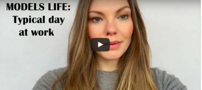 New video : Typical working day of a model. /   Новое видео: Один день из жизни модели.